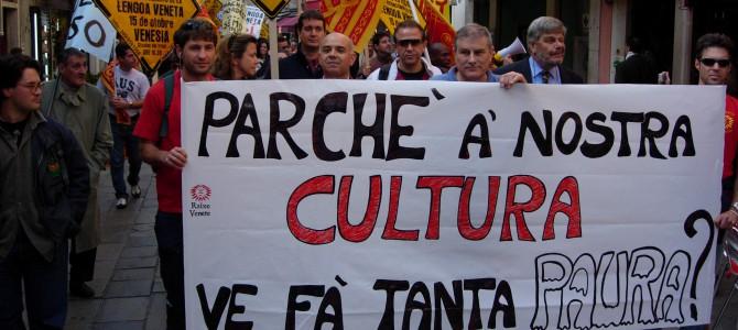 Manifestazione salvaguardia Lingua Veneta