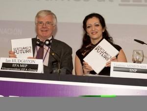 Scottish National Party confernza Santiago